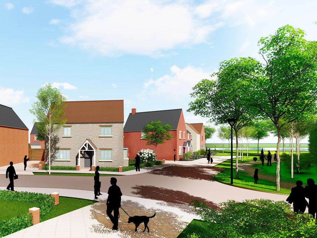 Brackley, Northamptonshire - Helix project