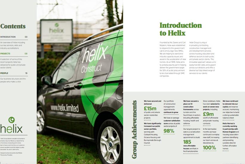 Helix group brochure 2021